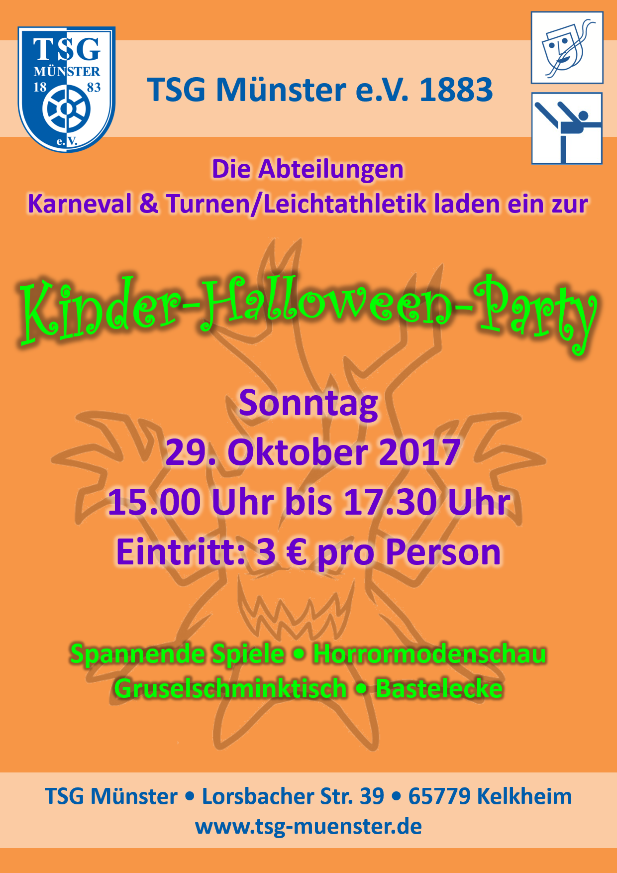 kinder-halloween-party_plakat