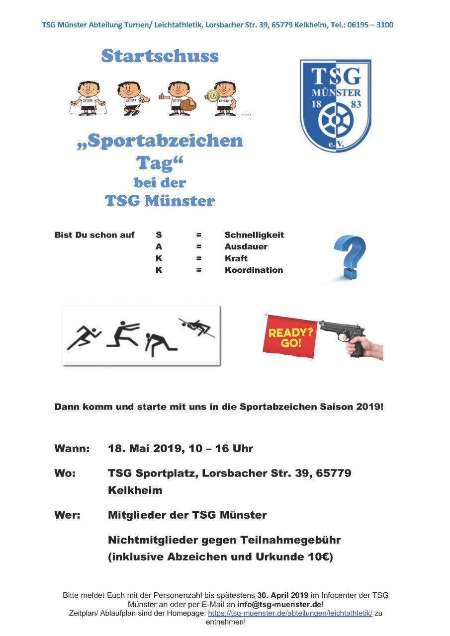 Startschuss-Sportabzeichen