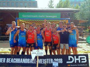 2019-06-09 Deutscher Meister 2018 Beach & da Gang (TSG Münster)