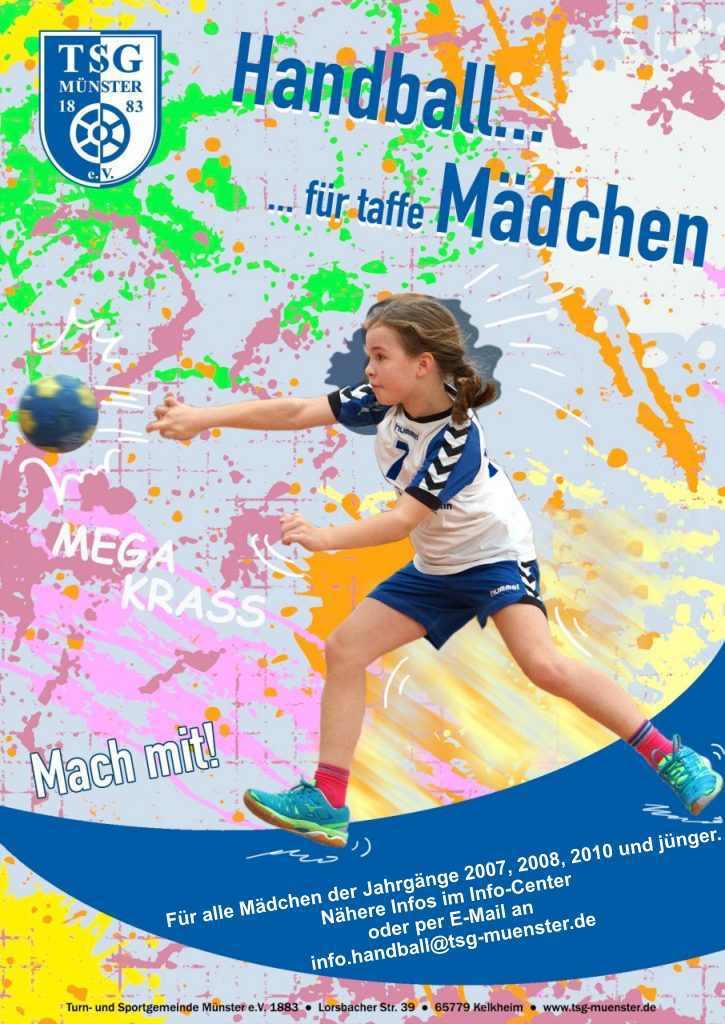 2019-09-02 Plakat-Mädchen-Handball