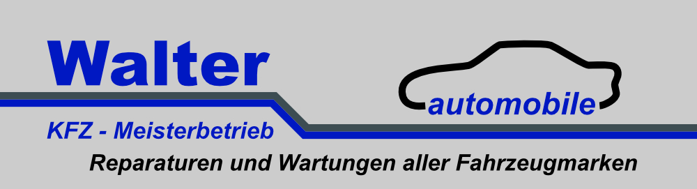 Logo Walter-Automobile