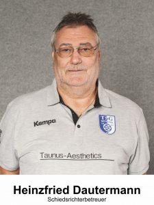 Schiedsrichter Heinzfried Dautermann
