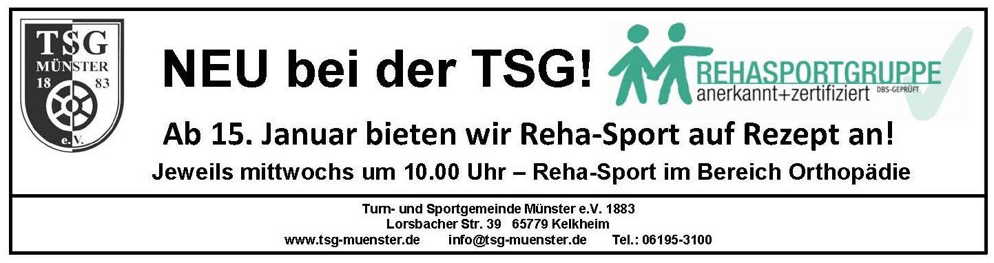 Reha-Sport 06012020