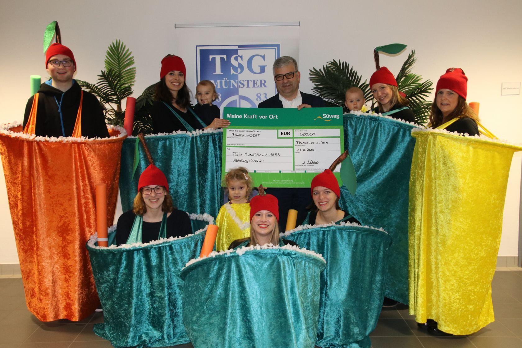 TSG Münster_Süwag_Gruppenbild 2020