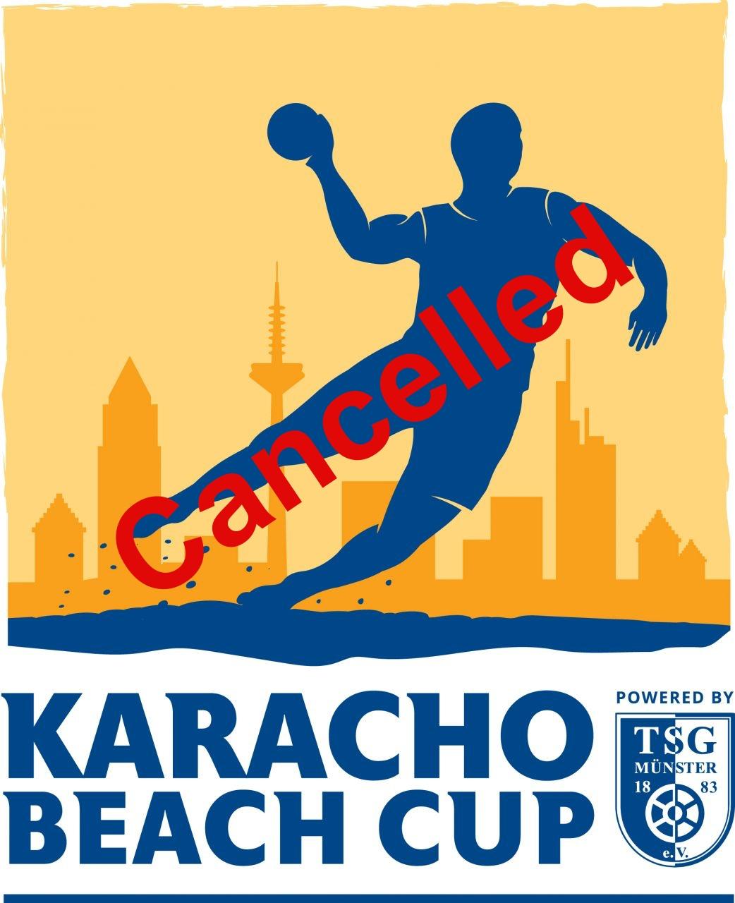 2019-03-15 Absage karacho_beach-cup_logo