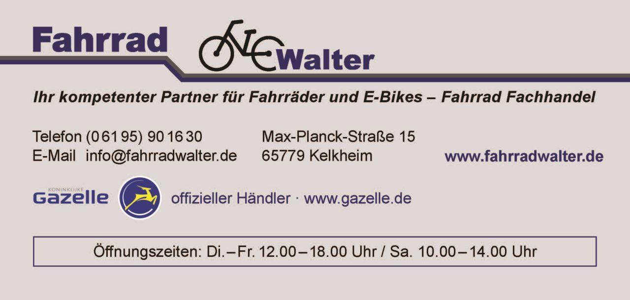 AZ Fahrrad Walter TSG Münster 190x90 mm Druck
