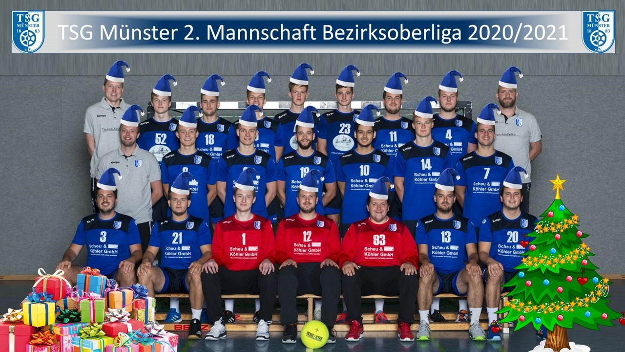 10. TSG Münster Zwote Weihnachstbild 202021